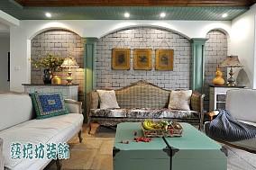 欧式复古风格客厅装修效果图