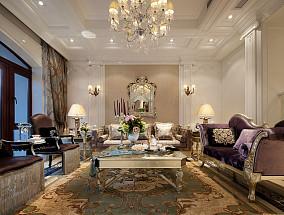 欧式客厅装修风格图片大全