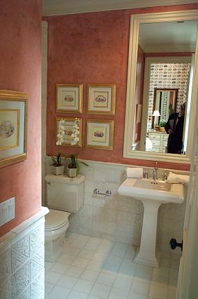 热门面积88平小户型卫生间欧式装修设计效果图片大全