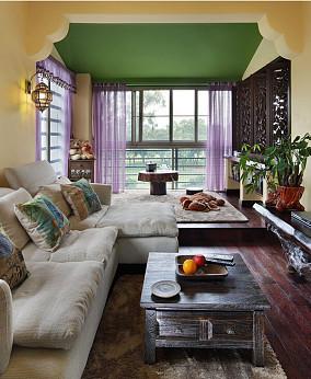 热门东南亚别墅客厅装修效果图