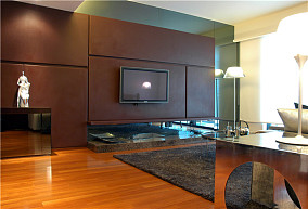 现代小户型休闲区设计效果图