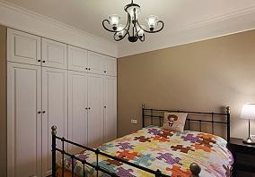 精选76平米简约小户型儿童房装饰图