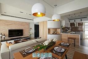 热门79平米简约小户型休闲区欣赏图