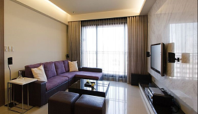201882平米日式小户型客厅装修欣赏图