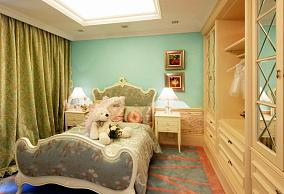 面积72平小户型儿童房欧式装修图片