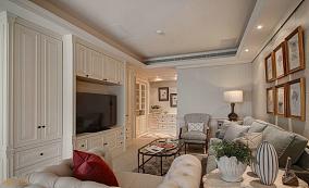 精选一居客厅美式实景图片欣赏