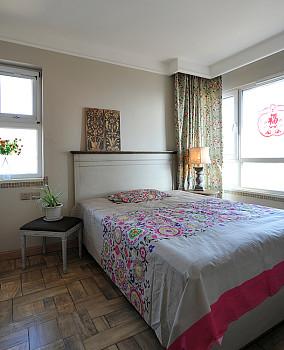 精美72平米田园小户型卧室实景图