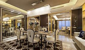 热门二居餐厅新古典装修设计效果图