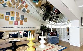 精选地中海小户型客厅装修图