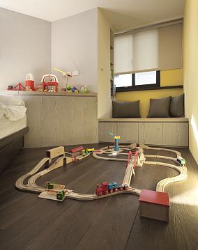 面积84平小户型休闲区现代装修设计效果图片欣赏