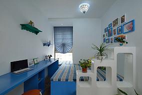 地中海风格卧室隔断装修效果图