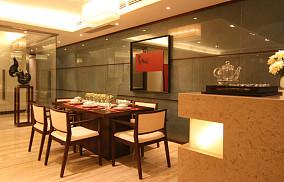 精美面积80平小户型餐厅中式欣赏图