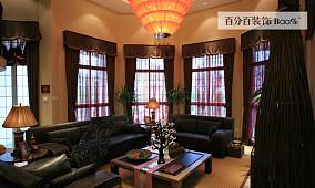 精选118平米东南亚别墅休闲区装修设计效果图
