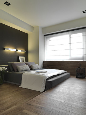 精选简约小户型卧室装修实景图