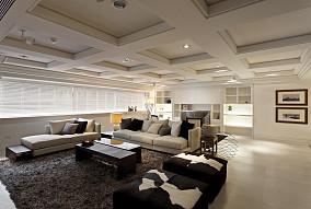 2018精选126平米四居客厅现代装饰图