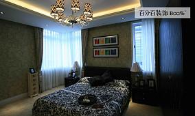 精美88平米东南亚小户型卧室装修欣赏图片