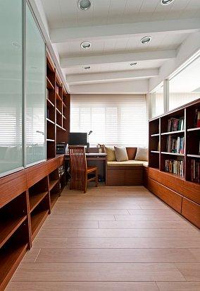 小户型书房简约实景图片大全