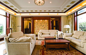 中式风格客厅设计效果图大全