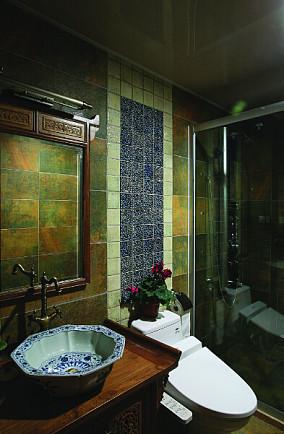 中式风格卫生间设计图片
