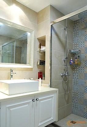 现代美式风格卫生间设计图片大全
