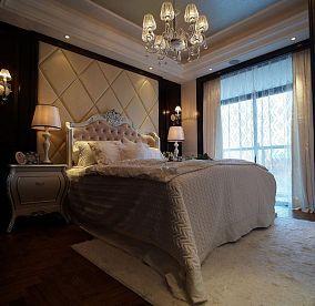 大小138平欧式四居卧室装修效果图