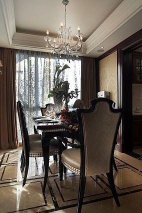 欧式风格餐厅设计效果图片大全