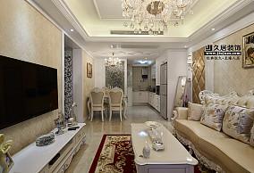 欧式风格客厅电视背景墙装修效果图大全欣赏