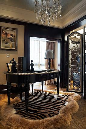 欧式风格豪华书房设计图片大全