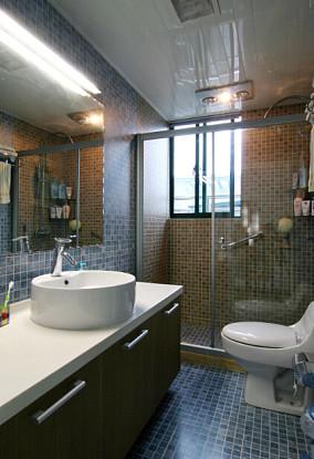 现代中式风格卫生间图片大全