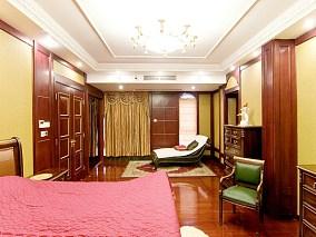美式风格豪华别墅卧室设计图片