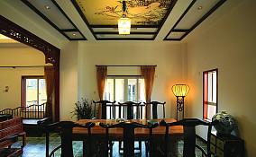 中式风格餐厅设计效果图