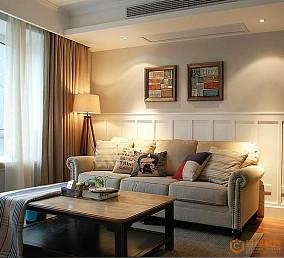 精美101平米三居休闲区美式装饰图