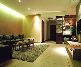 中式风格室内隔断设计图片