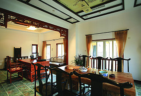 中式风格餐厅设计图片大全欣赏