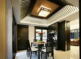 精美小户型餐厅中式装修效果图片欣赏