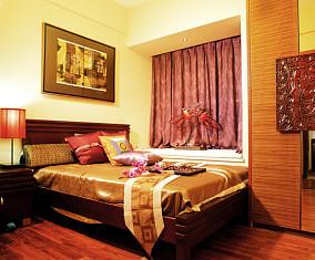 精美79平米二居卧室中式效果图片大全