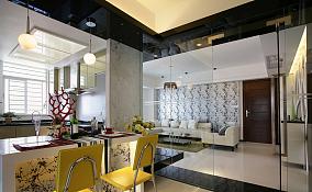 热门面积74平现代二居休闲区设计效果图