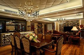 美欧风格餐厅设计装修图