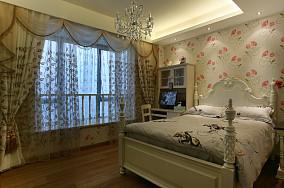 2018面积86平小户型卧室欧式装修设计效果图片欣赏