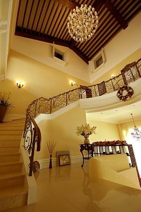 最新欧式别墅室内装修效果图片2014
