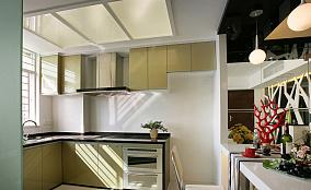 面积72平小户型厨房现代装修图片欣赏