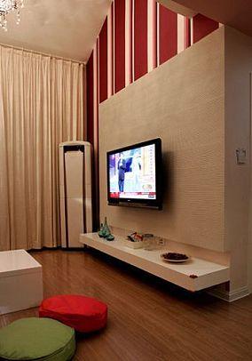 简约豪华室内电视背景墙图片大全