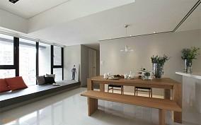 现代风格室内飘窗榻榻米装修效果图