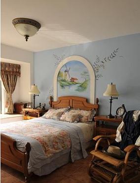 美式田园风格卧室设计图片大全欣赏
