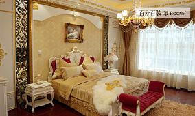 2018精选73平米欧式小户型卧室装修效果图片