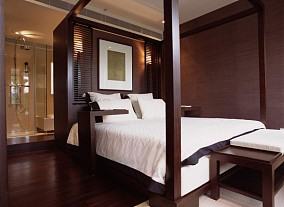 现代中式风格卧室装修效果图欣赏大全