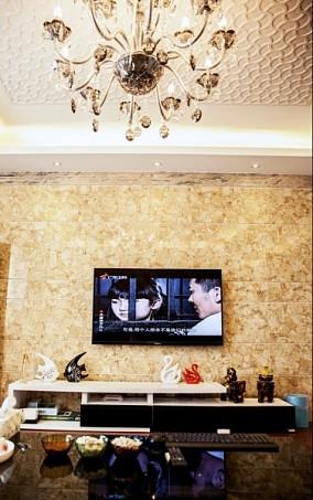 简约现代风格电视背景墙装修图片