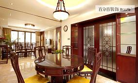 中式风格家装餐厅设计效果图大全