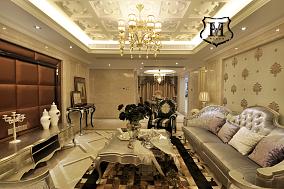 现代欧式风格客厅装修图片大全