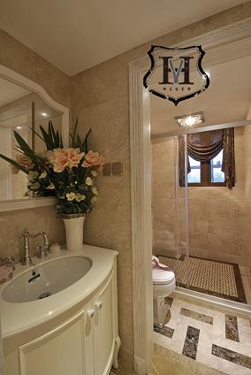 现代欧式卫生间设计效果图欣赏
